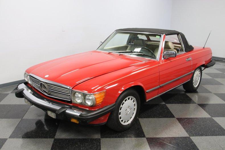 1987 Mercedes-Benz 560SL 23