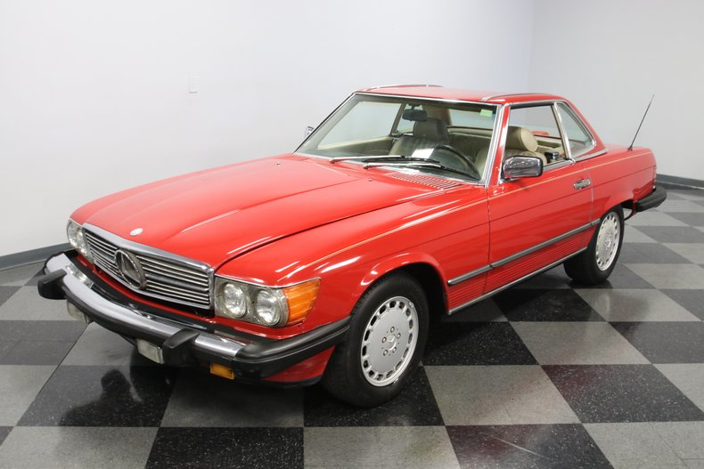 1987 Mercedes-Benz 560SL 24