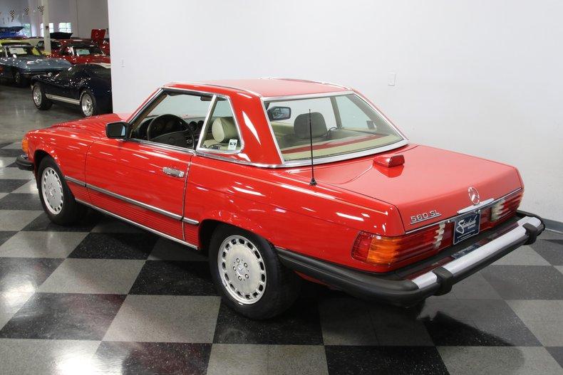 1987 Mercedes-Benz 560SL 34