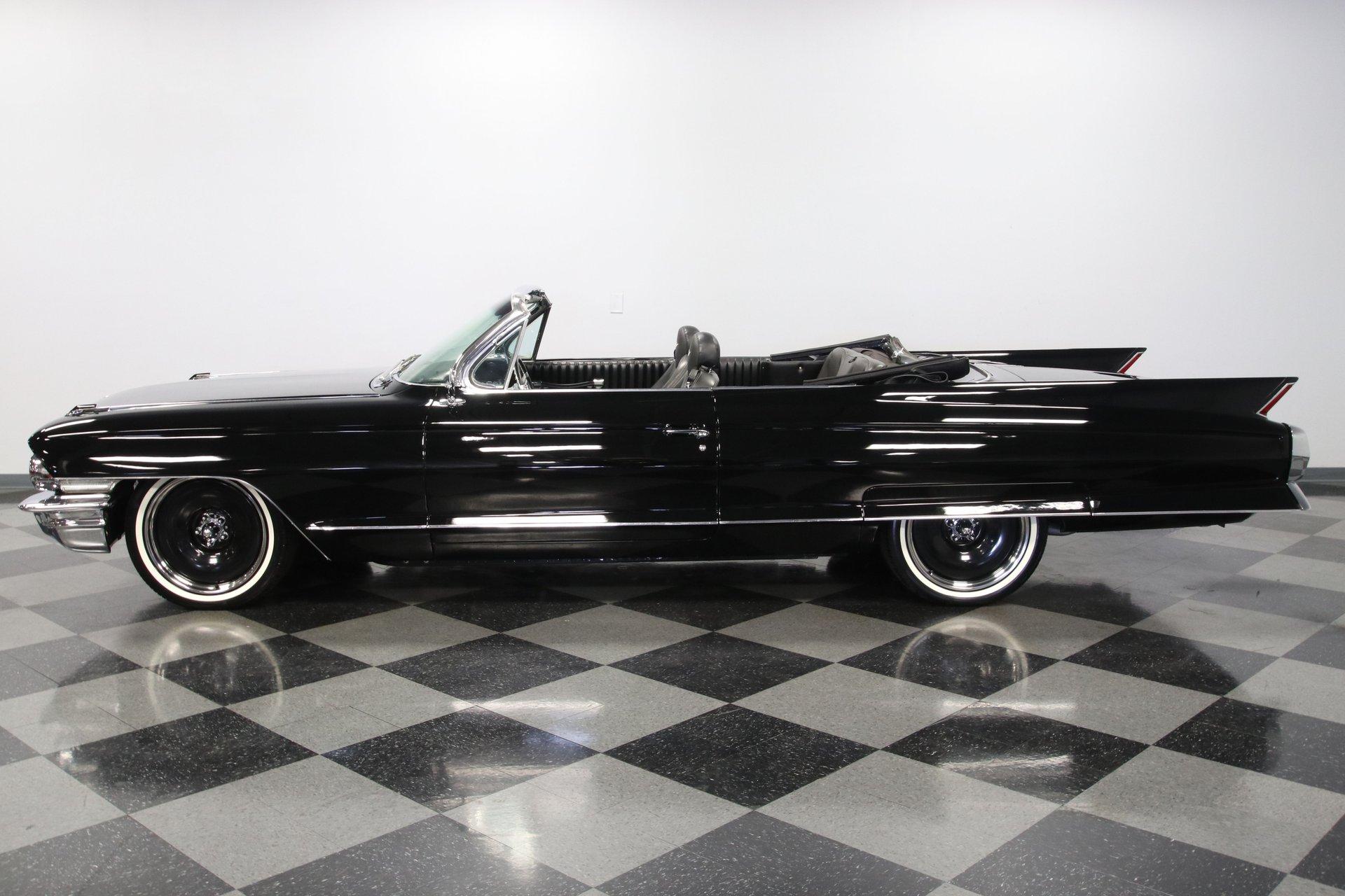 1962 cadillac series 62 convertible restomod