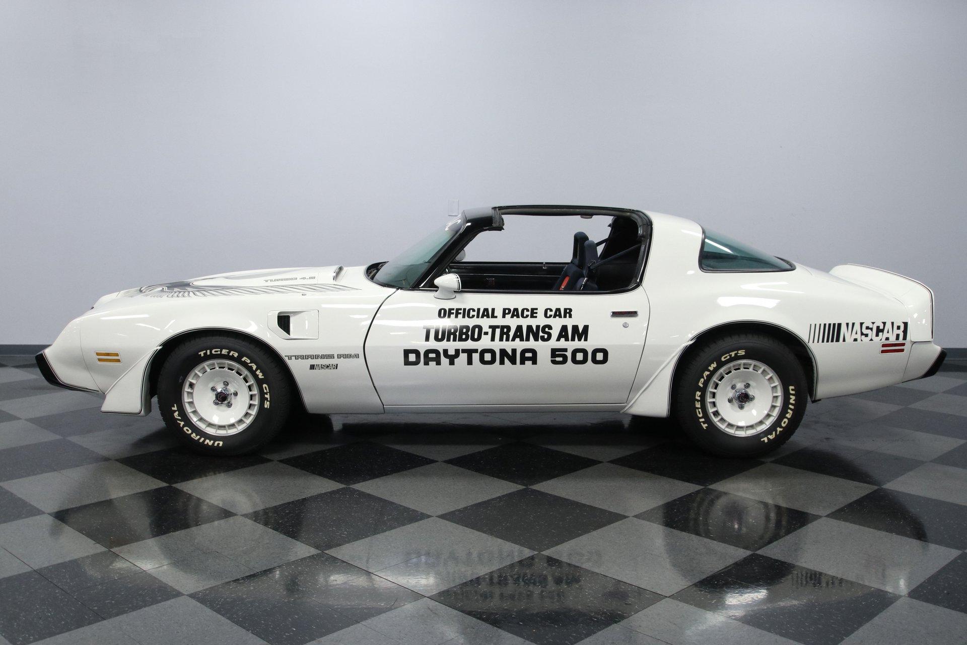 1981 pontiac firebird trans am turbo pace car