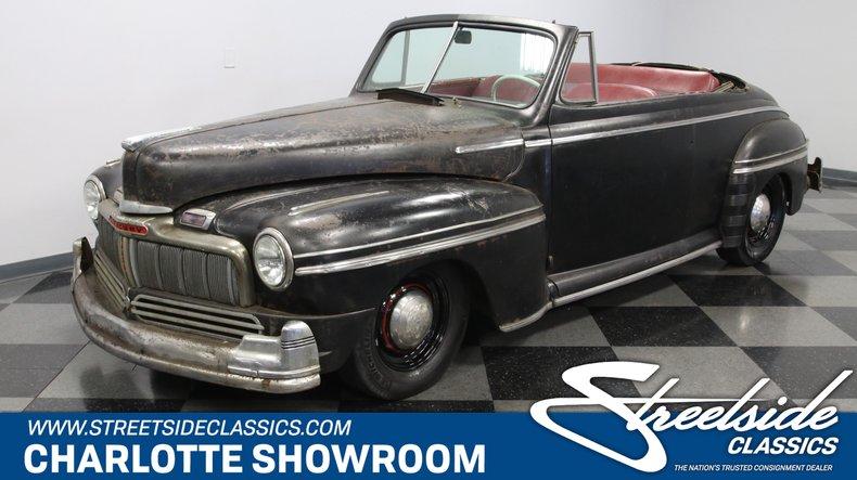 For Sale: 1947 Mercury Eight