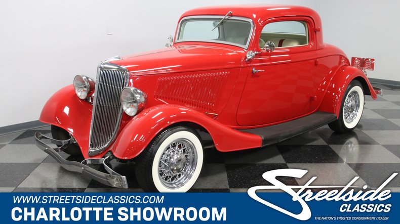 1934 Ford 3-Window For Sale