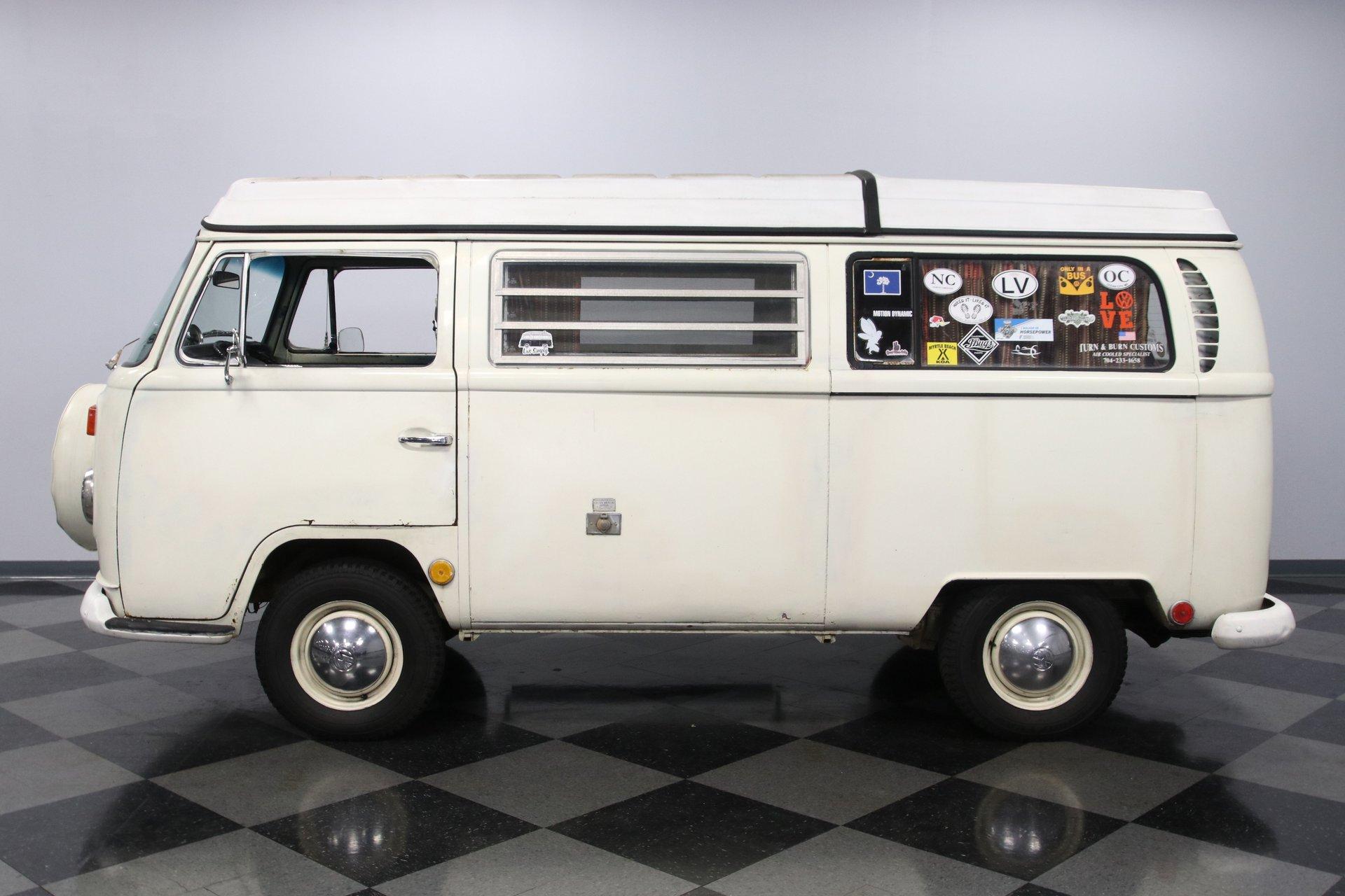 1969 volkswagen bus westfalia camper