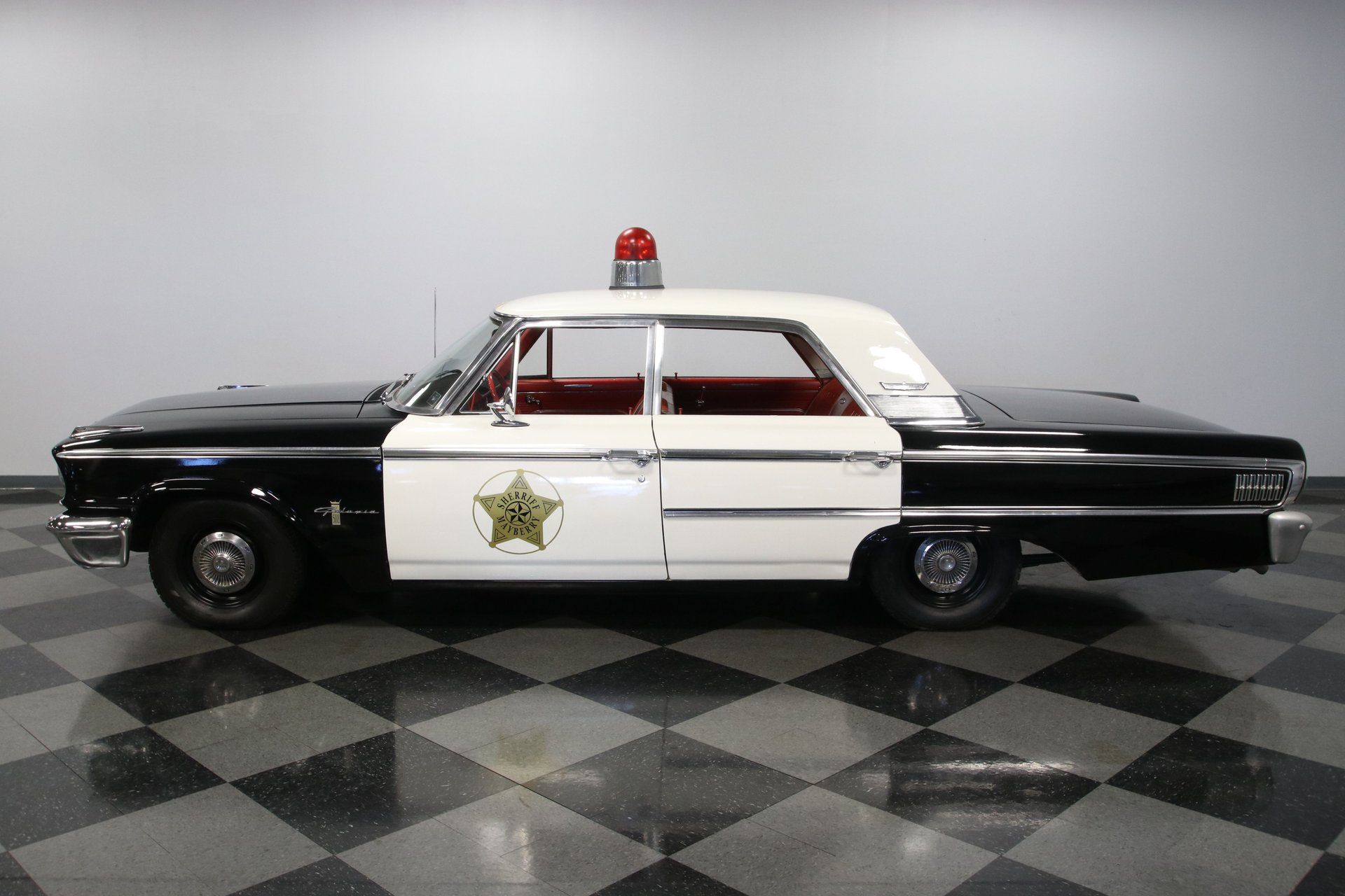 1963 ford galaxie 500 mayberry police car