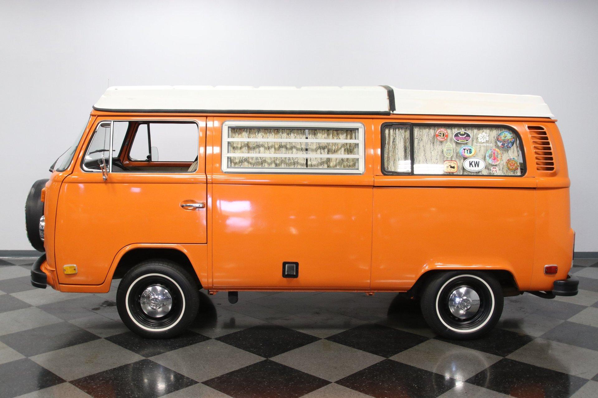 1973 volkswagen bus westfalia camper