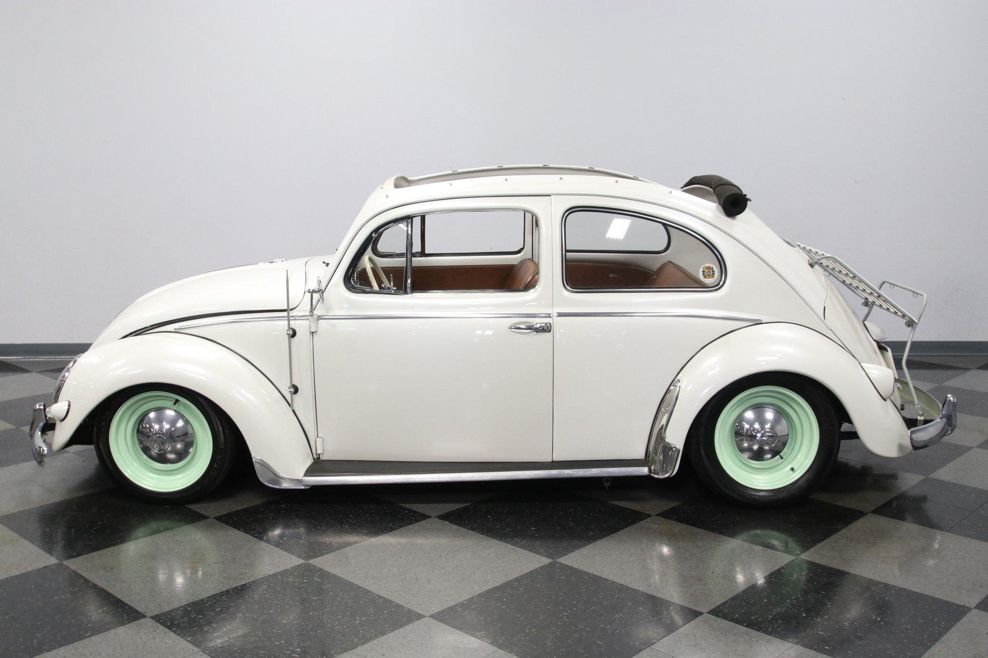 1957 volkswagen beetle ragtop