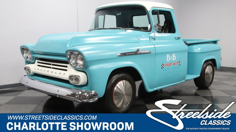 For Sale: 1958 Chevrolet 3100