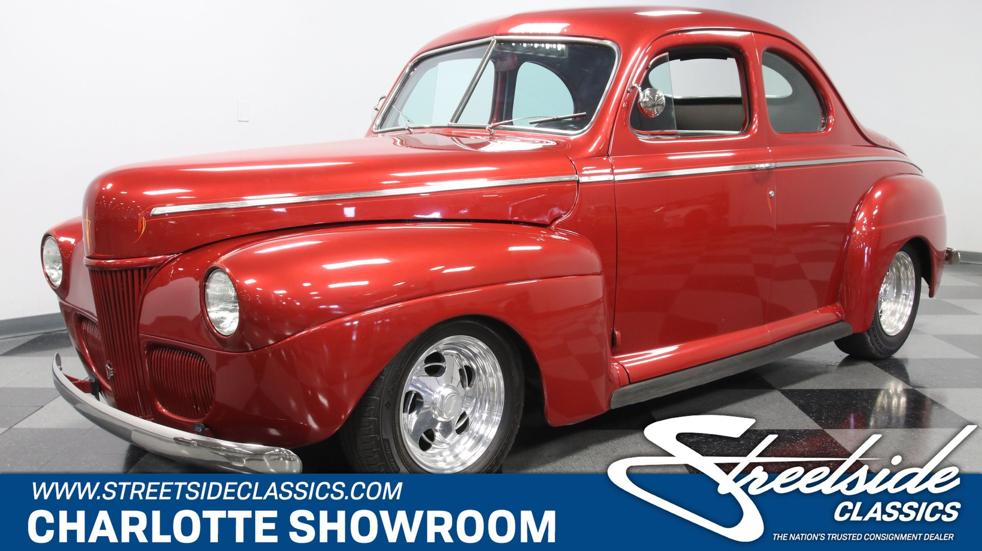 1941 ford deluxe business coupe