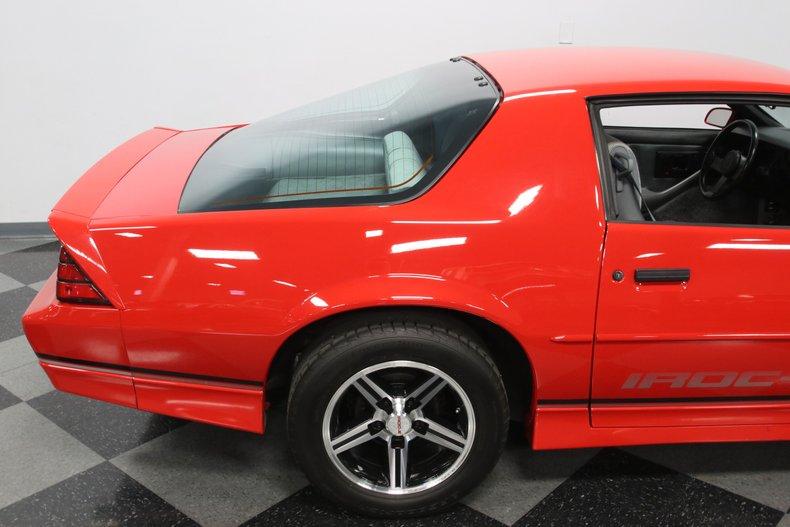 1988 Chevrolet Camaro 34