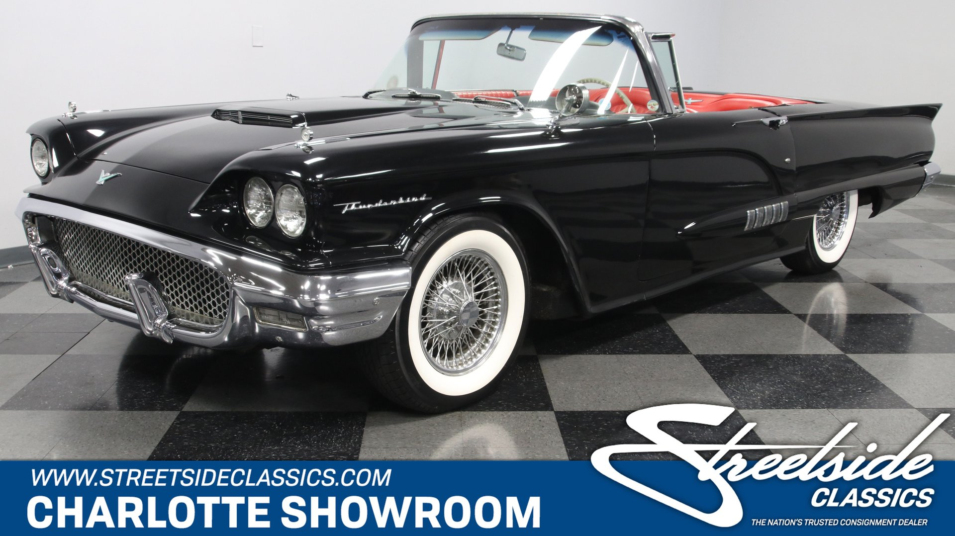 1958 Ford Thunderbird Classic Cars For Sale Streetside Classics The Nation S 1 Consignment Dealer