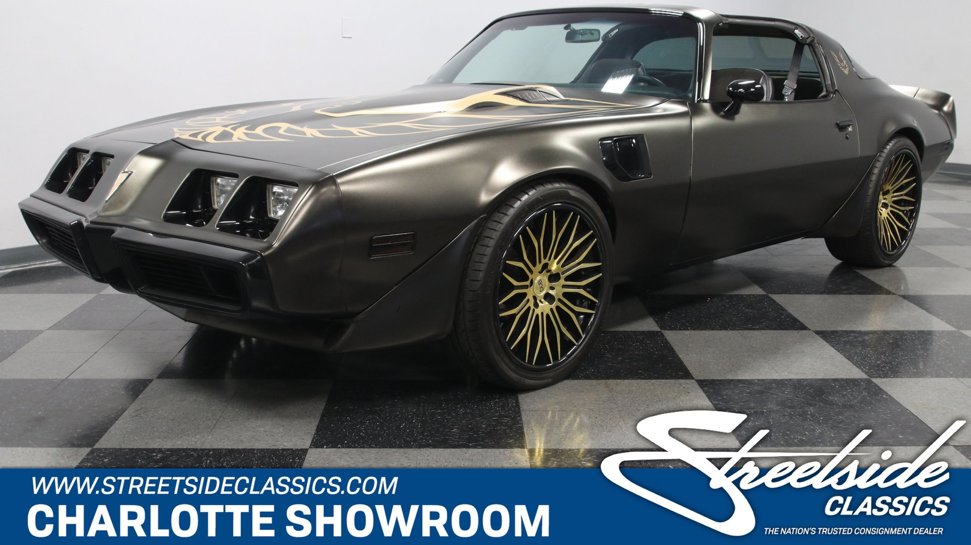 1981 pontiac firebird trans am restomod
