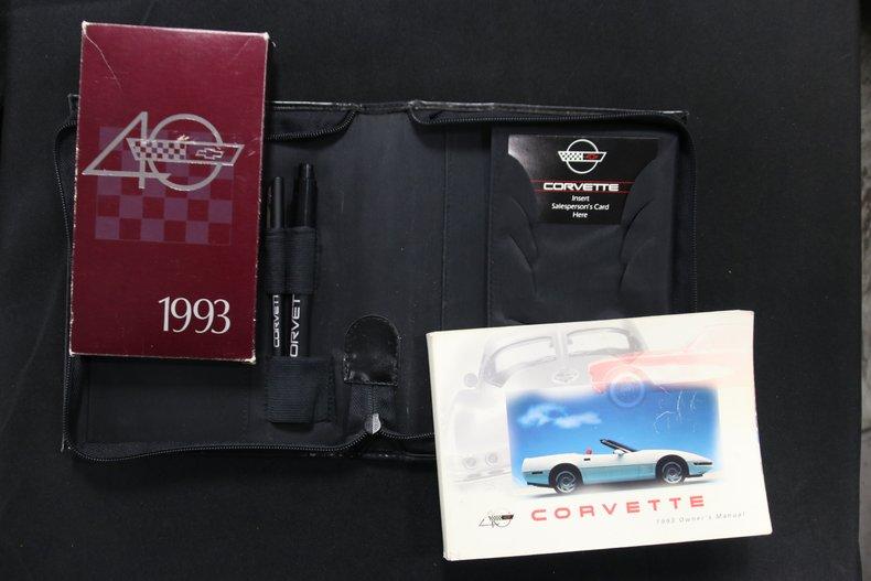 1993 Chevrolet Corvette 78