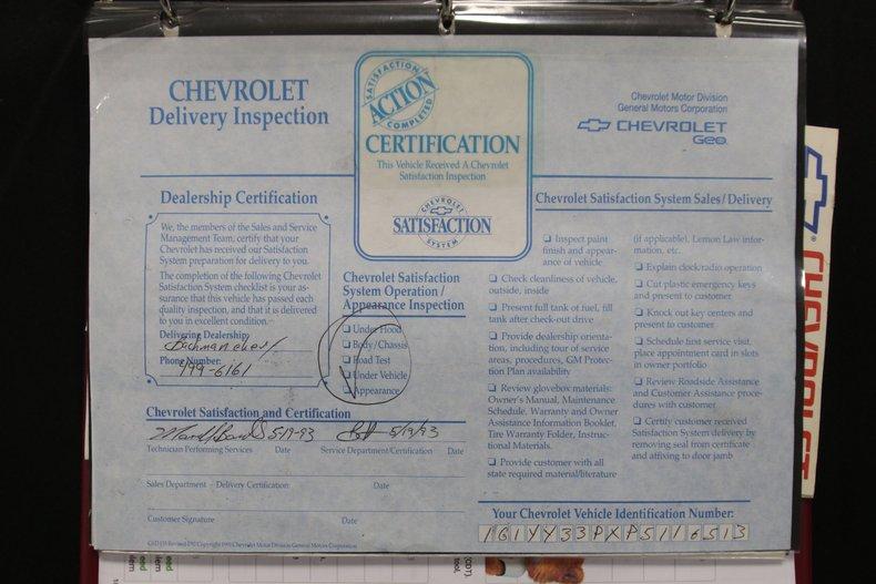 1993 Chevrolet Corvette 80