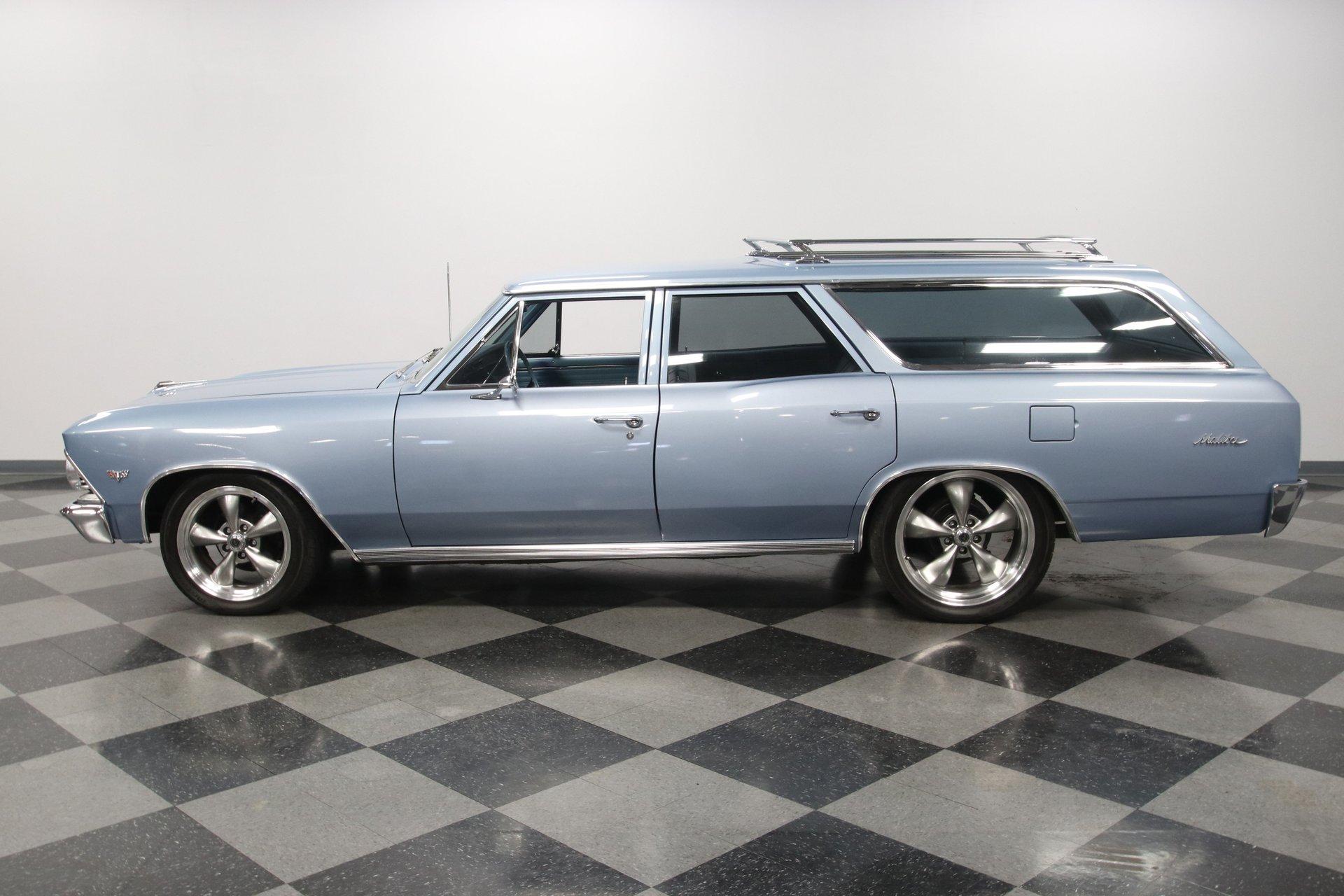 1966 chevrolet malibu wagon restomod