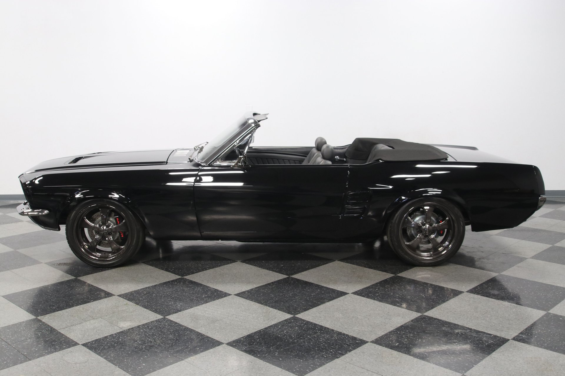 1967 ford mustang convertible restomod coyote swap