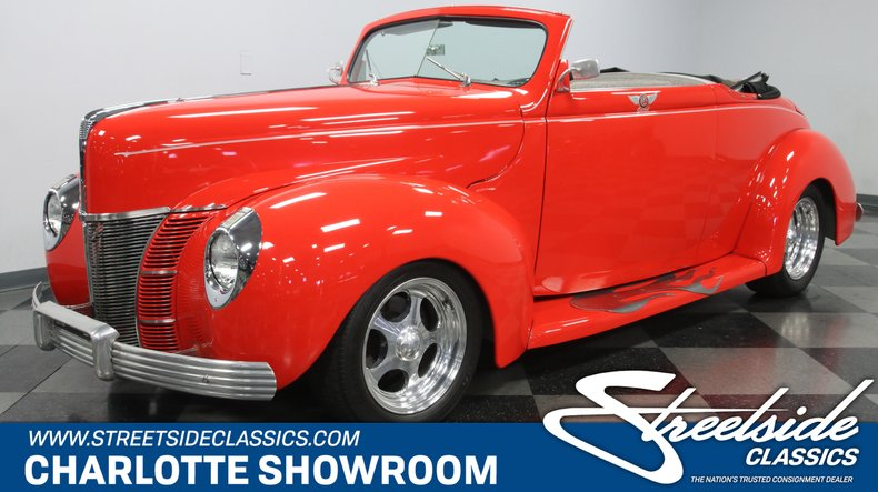 For Sale: 1940 Ford Deluxe Convertible Coupe