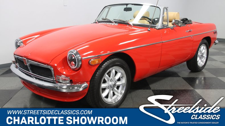 For Sale: 1978 MG MGB