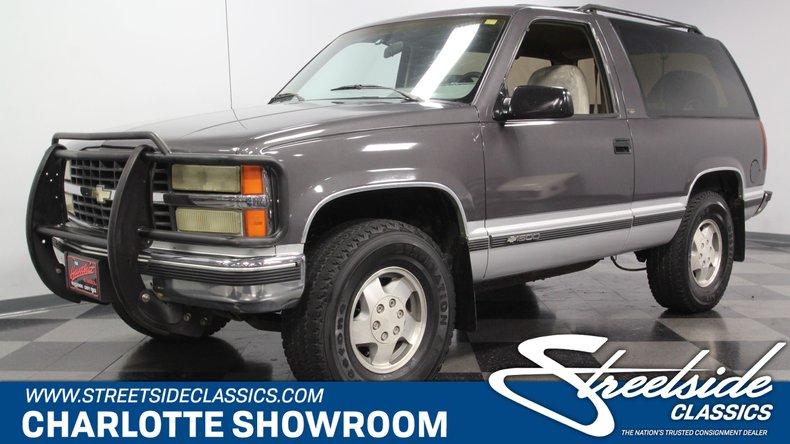 For Sale: 1993 Chevrolet Blazer