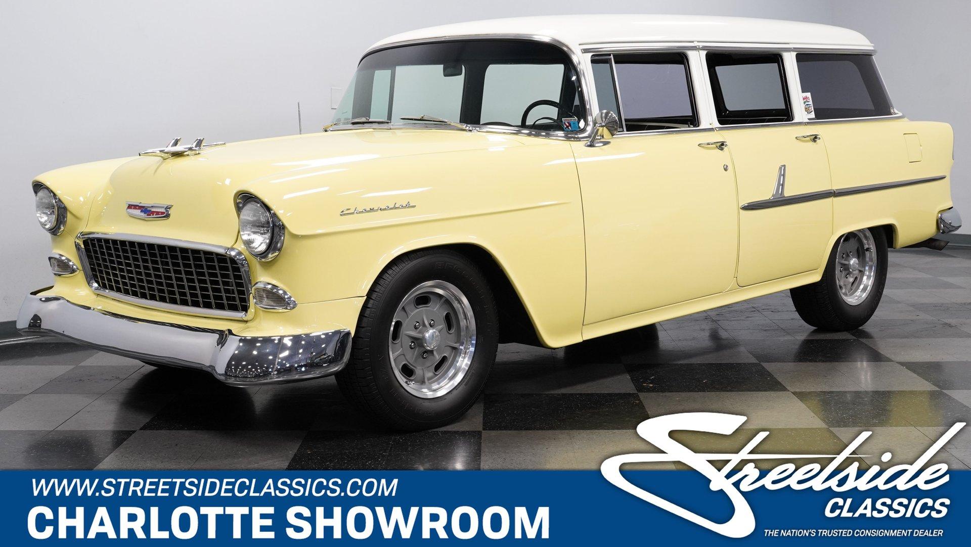 1955 chevrolet 210 wagon restomod