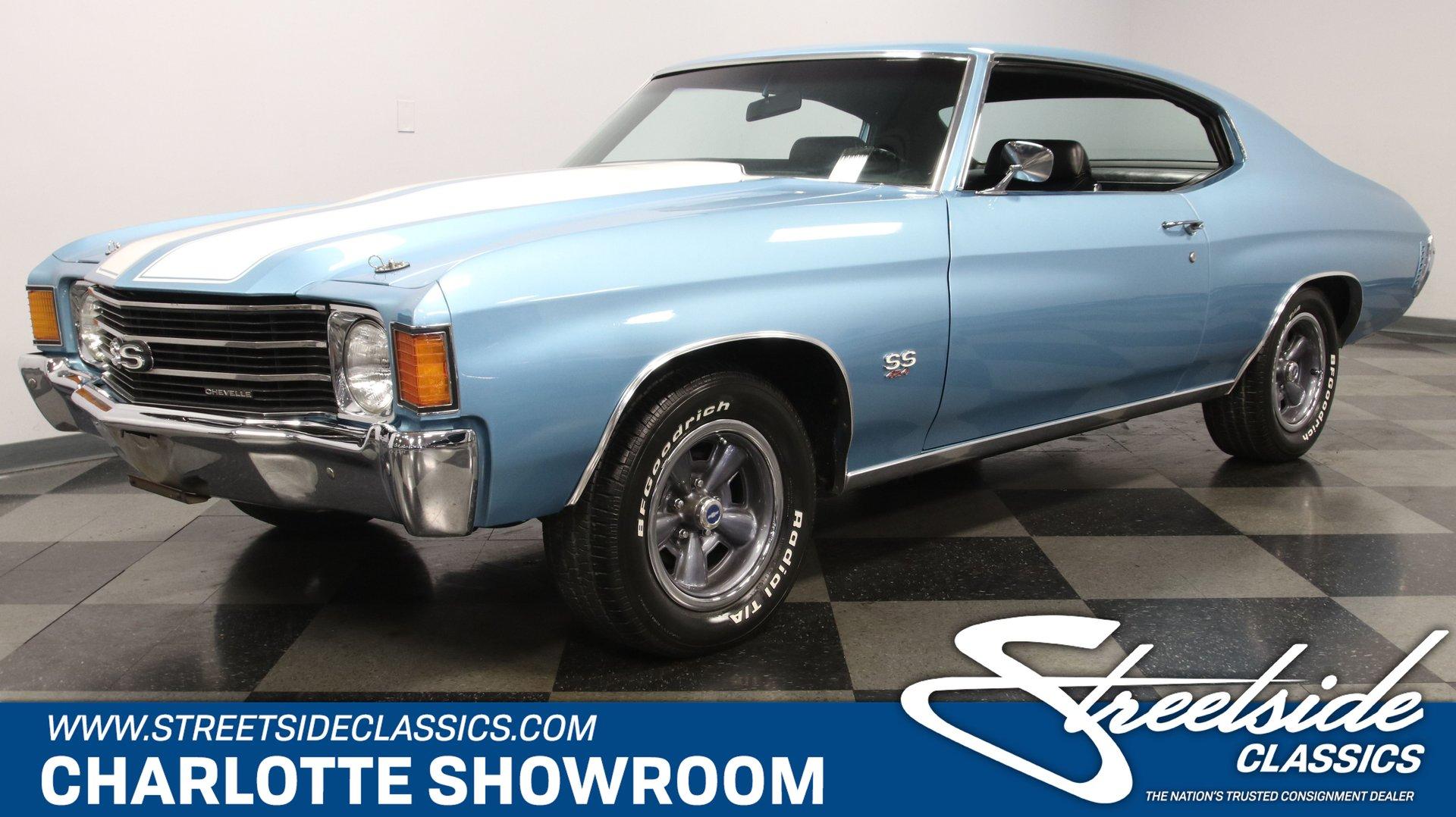 1972 chevrolet chevelle ss 454 tribute