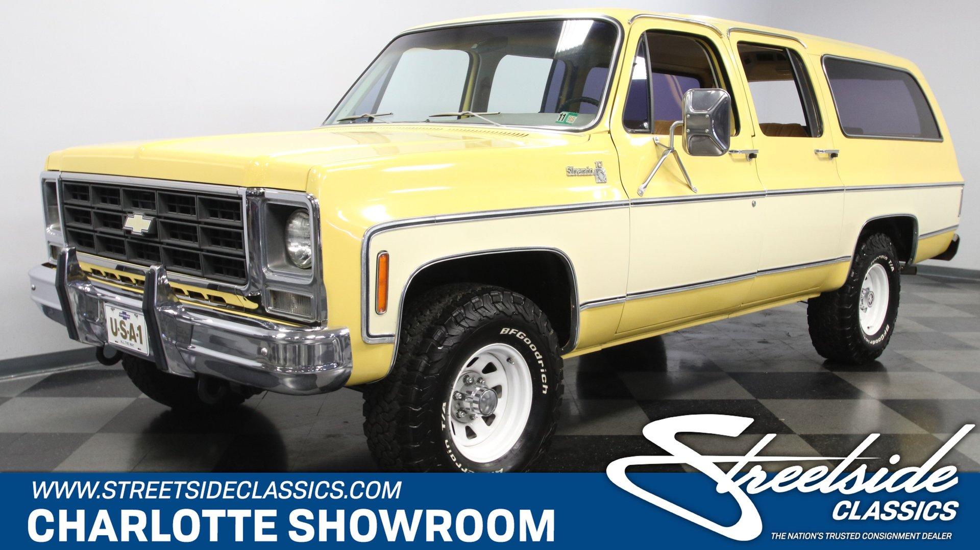 1979 chevrolet suburban 4x4 trailering special
