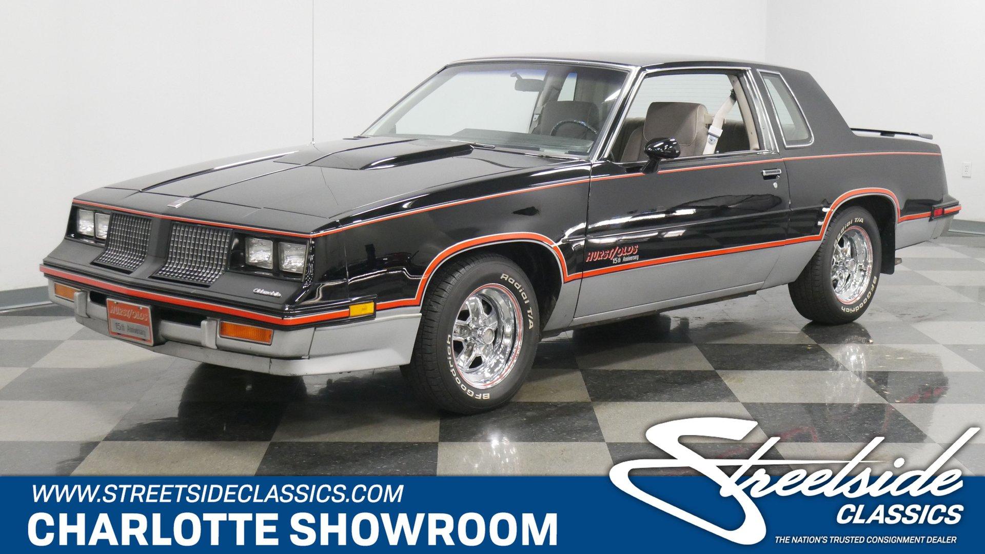 1983 oldsmobile cutlass hurst 15th anniversary