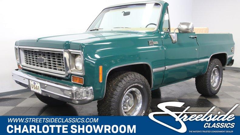 For Sale: 1973 Chevrolet Blazer