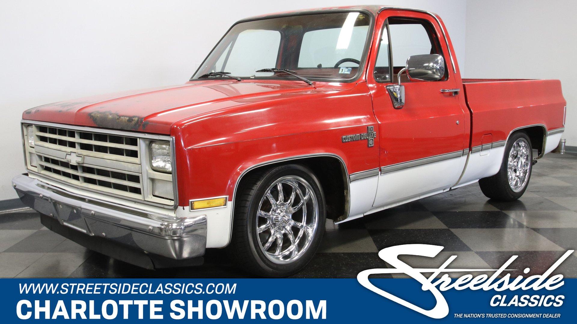 1987 Chevrolet C10 Custom Deluxe For Sale 207802 Motorious
