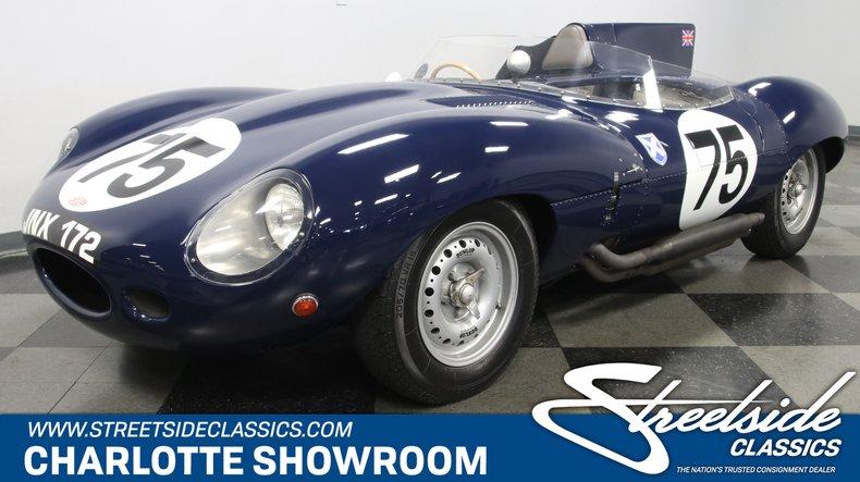 For Sale: 1960 Jaguar D-Type