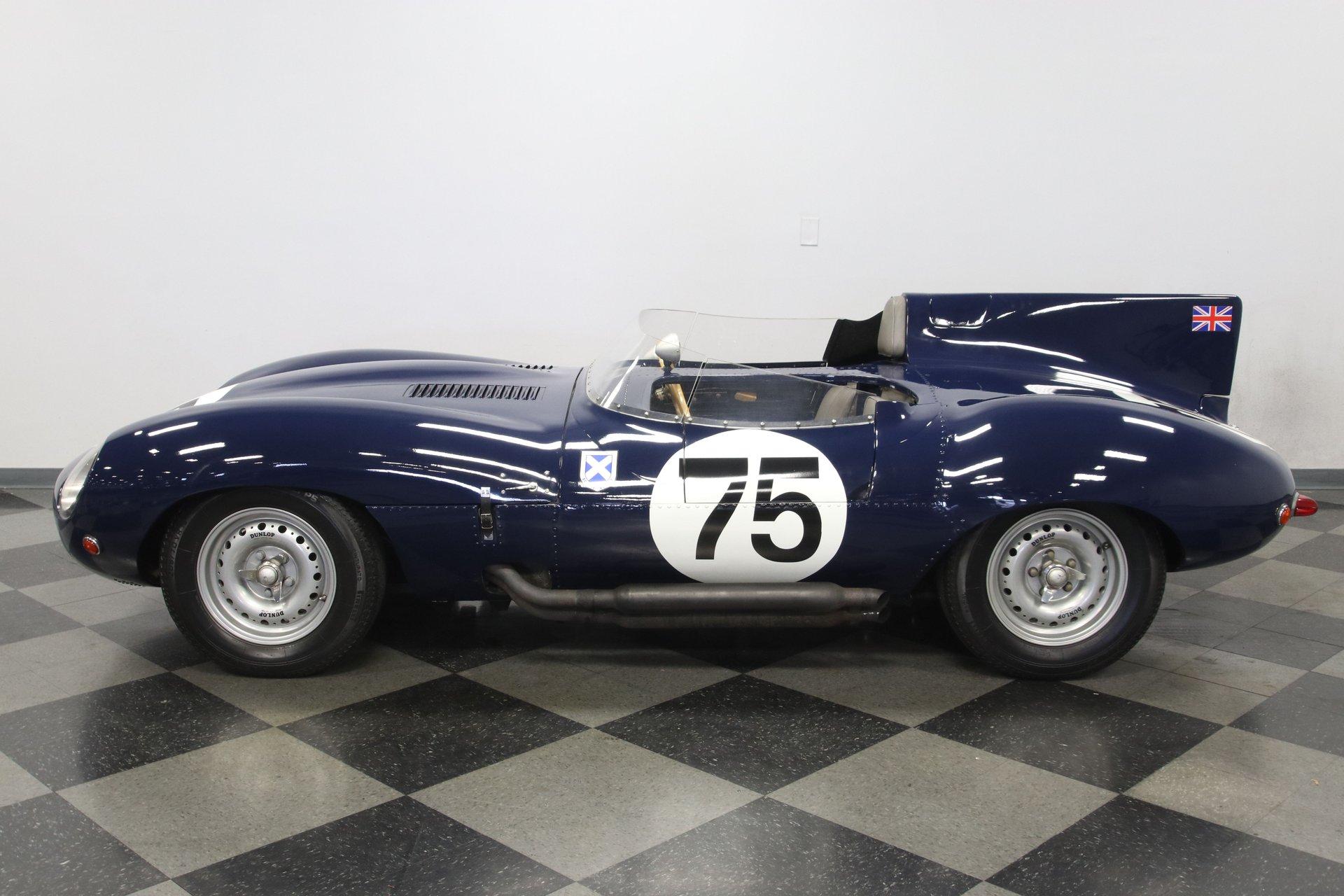 1960 jaguar d type replica