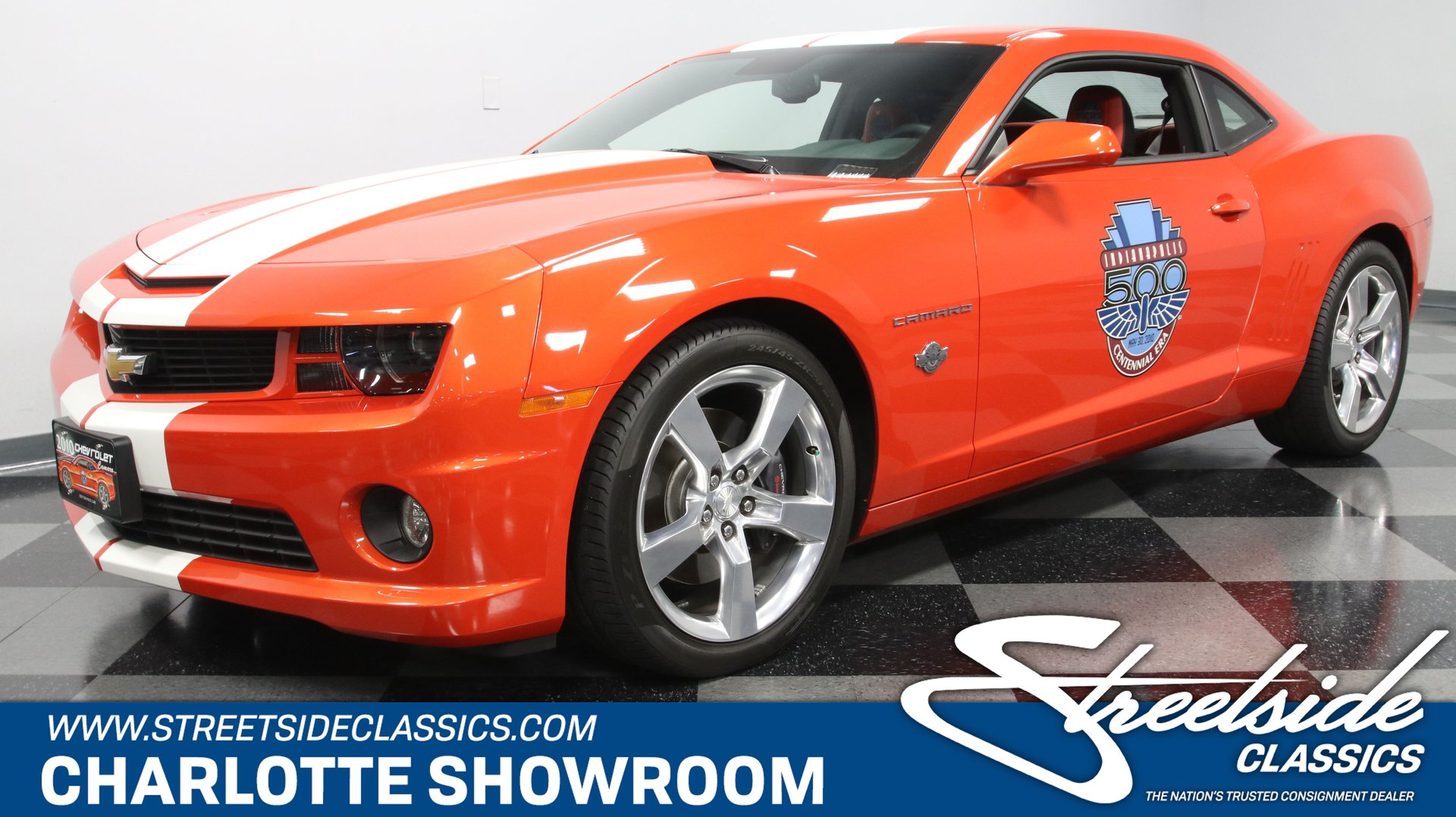 2010 chevrolet camaro ss indy pace car