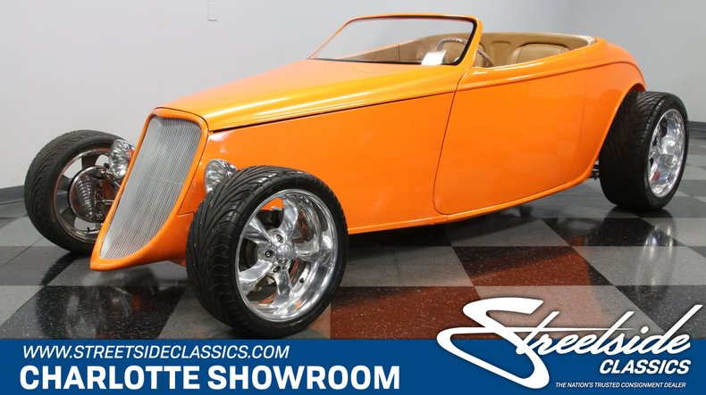 For Sale: 1933 Ford Speedster