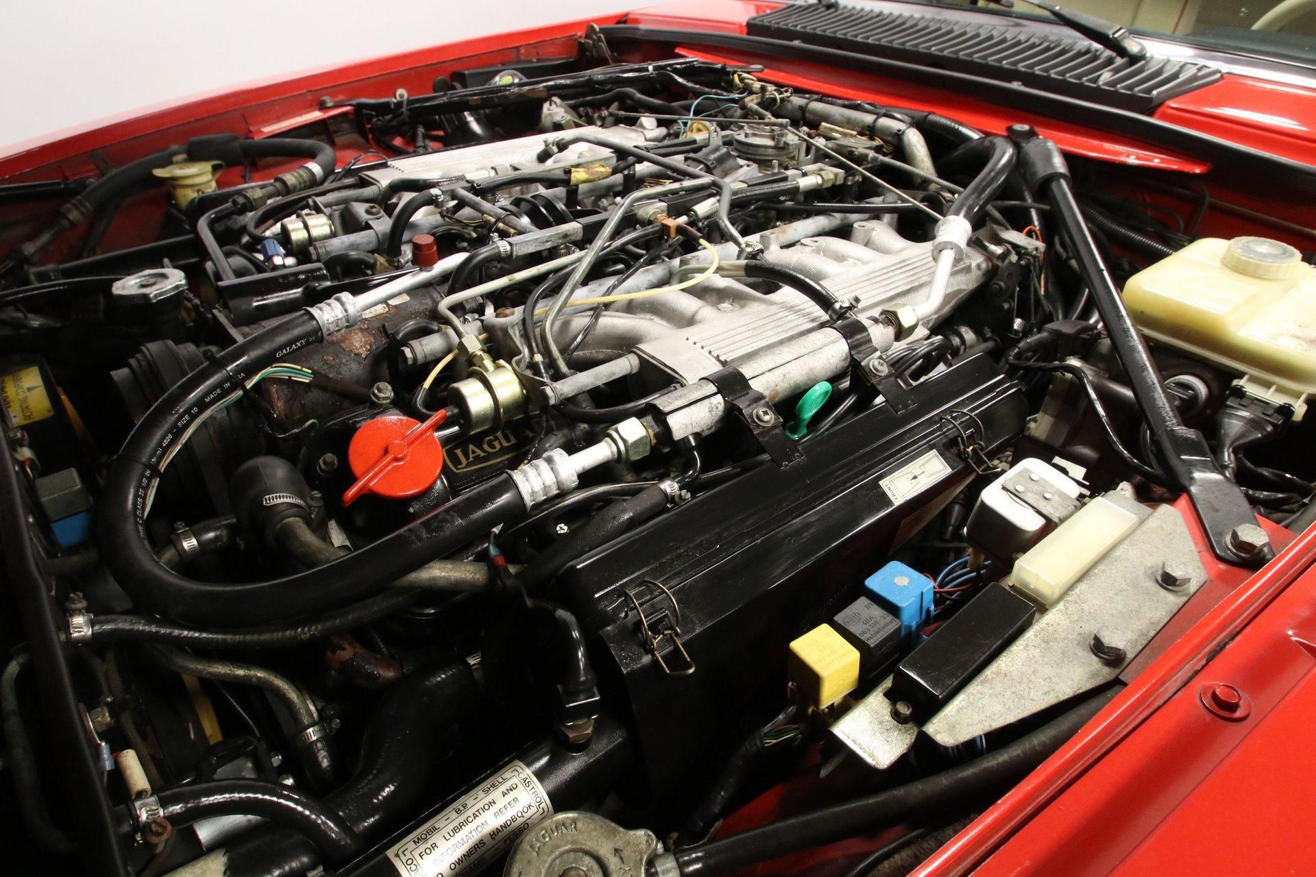 1990 jaguar xjs rouge edition