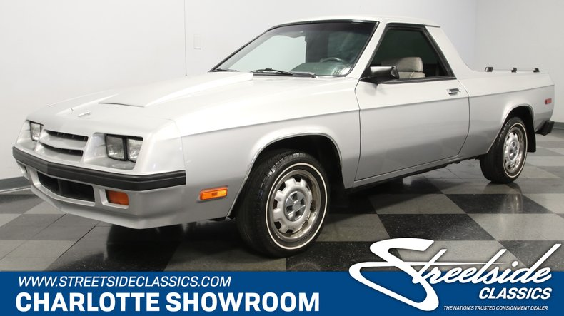 For Sale: 1984 Dodge Rampage