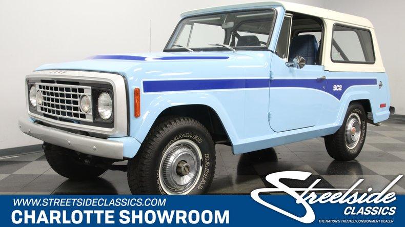 For Sale: 1972 Jeep Commando