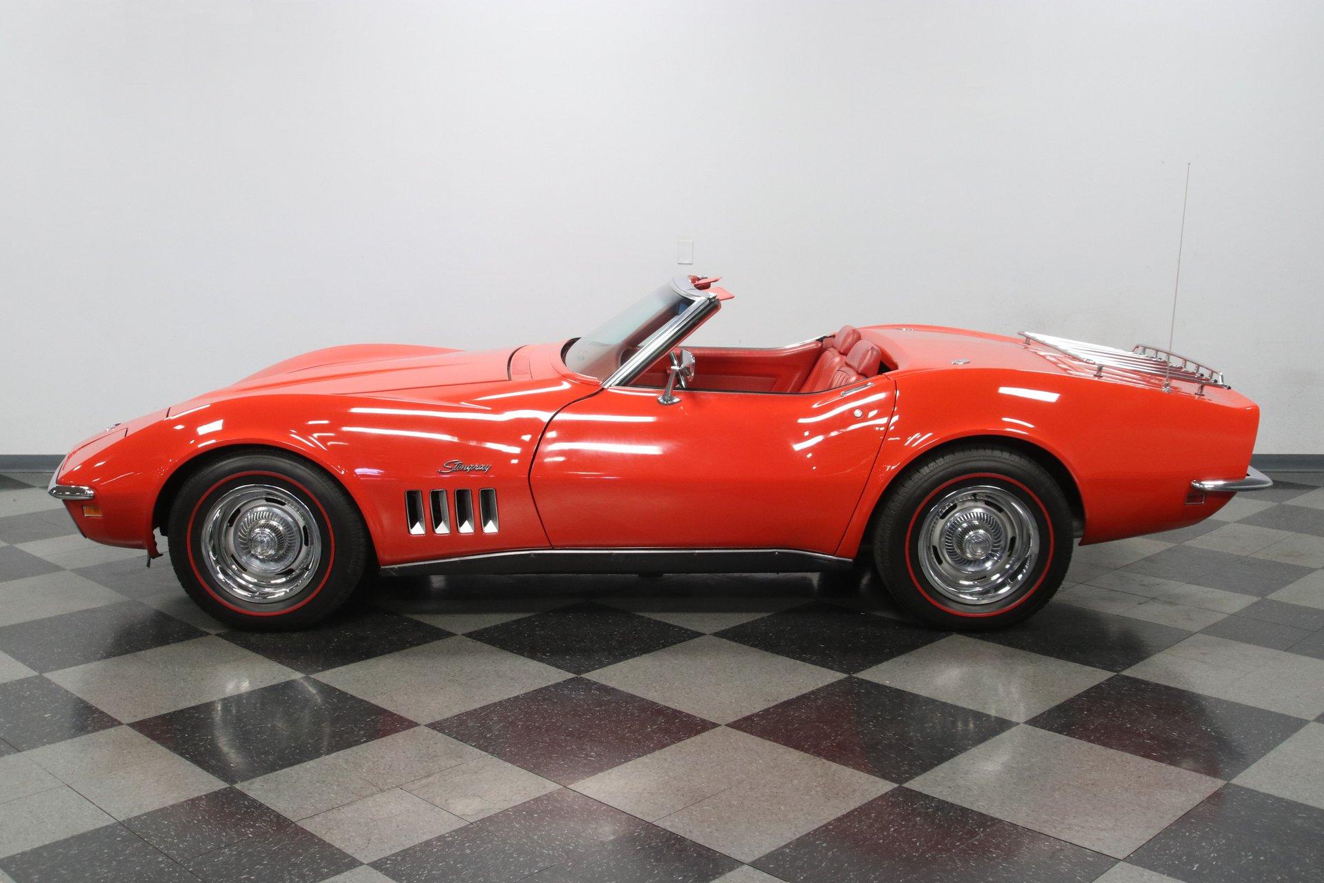 1969 chevrolet corvette l46 convertible
