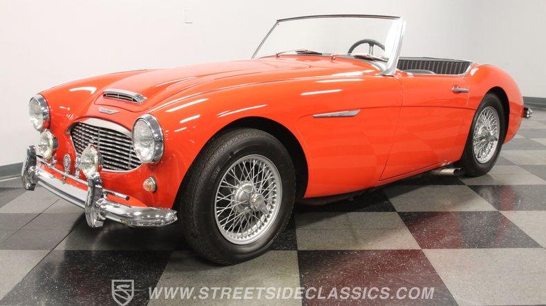 For Sale: 1962 Austin Healey 3000 Mark II