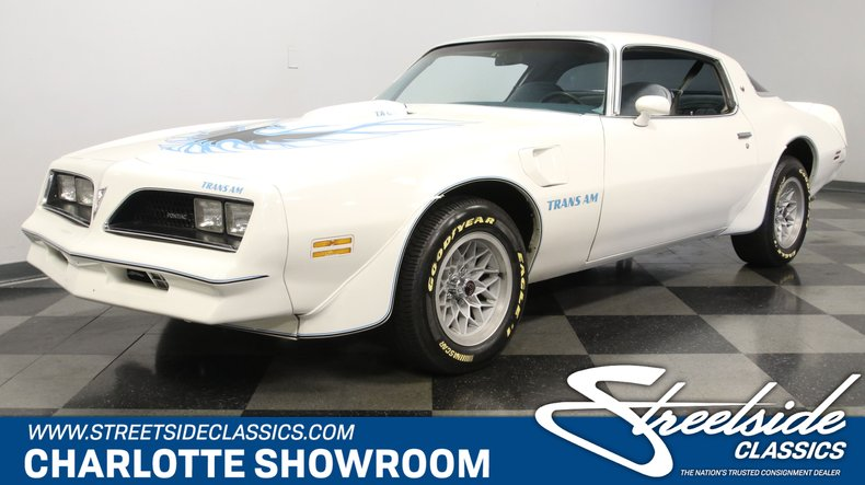 For Sale: 1977 Pontiac Firebird