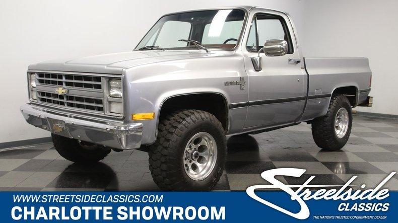 For Sale: 1985 Chevrolet K10