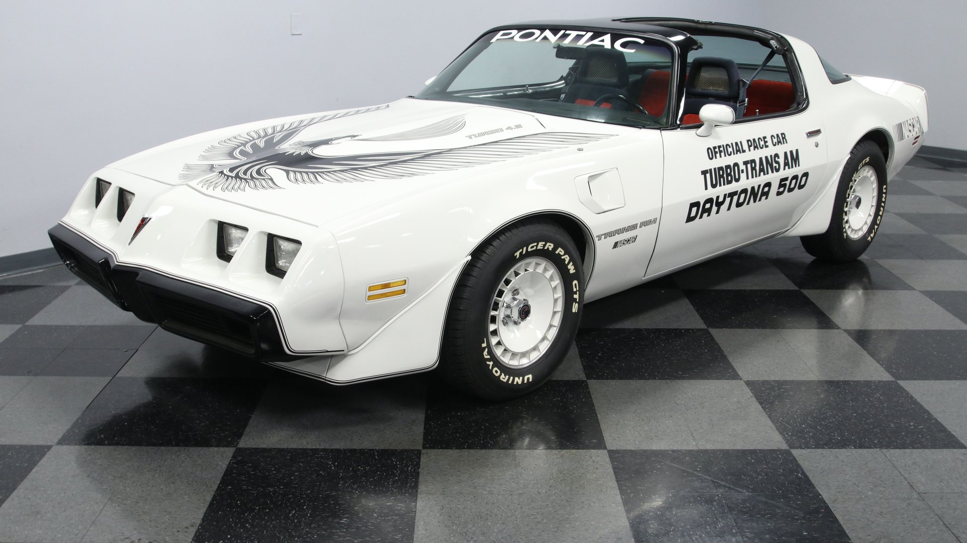 1981 pontiac firebird trans am turbo pace car restomod