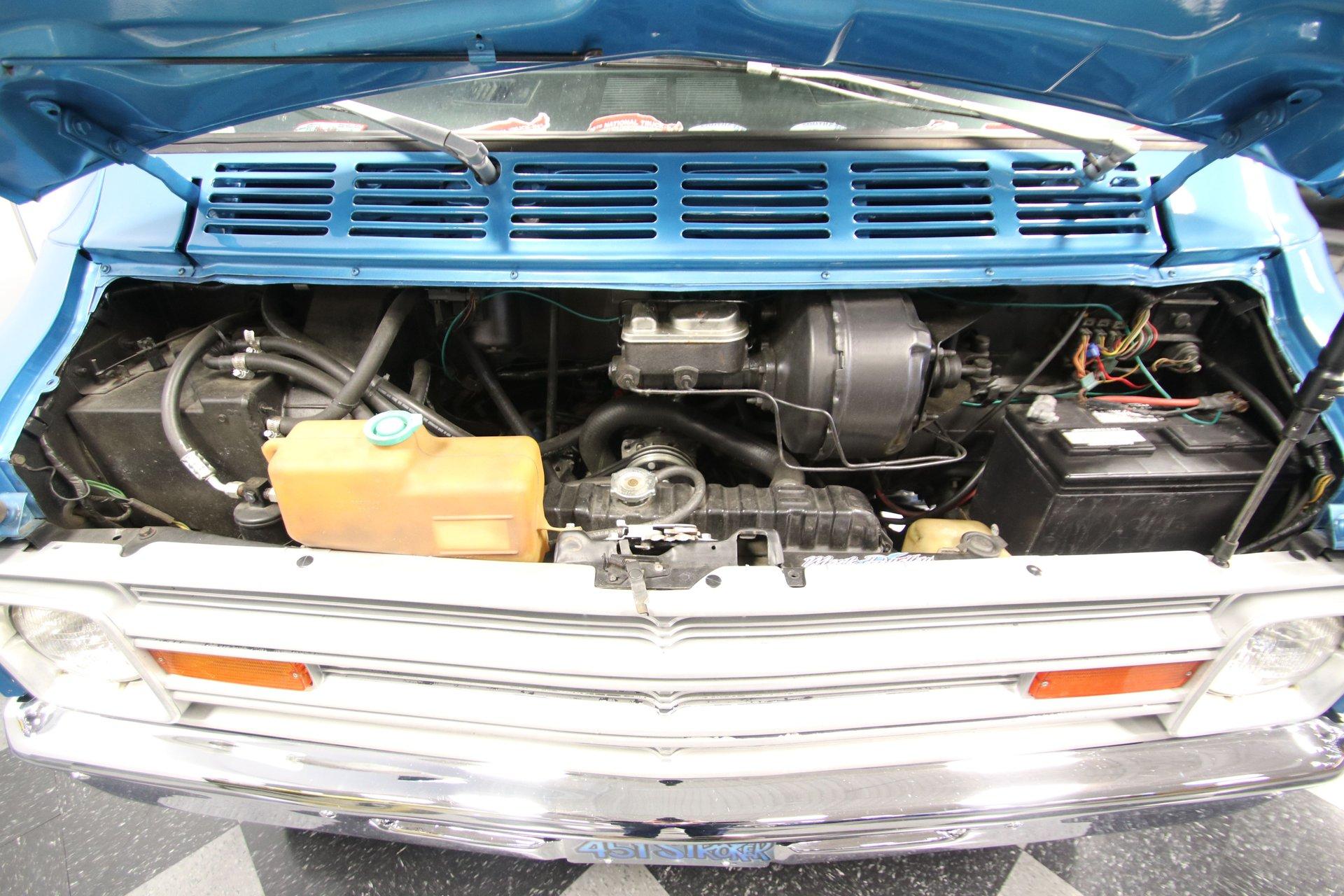 1977 dodge b200 restomod van