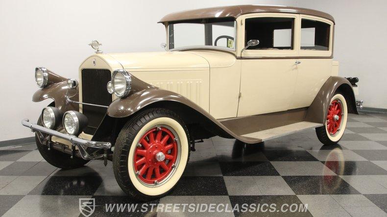 For Sale: 1928 Pierce-Arrow Model 81 Club Brougham