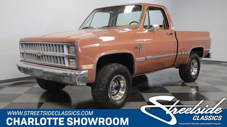 For Sale: 1982 Chevrolet K10