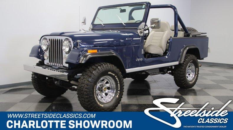 For Sale: 1981 Jeep Scrambler