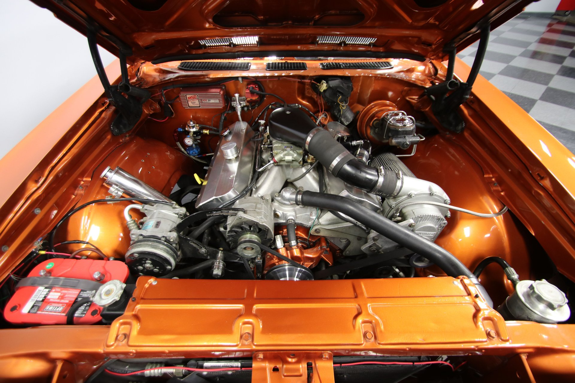 1968 chevrolet chevelle 454 procharged