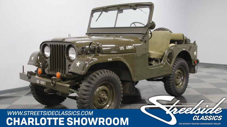For Sale: 1955 Willys M38A1 Military Jeep