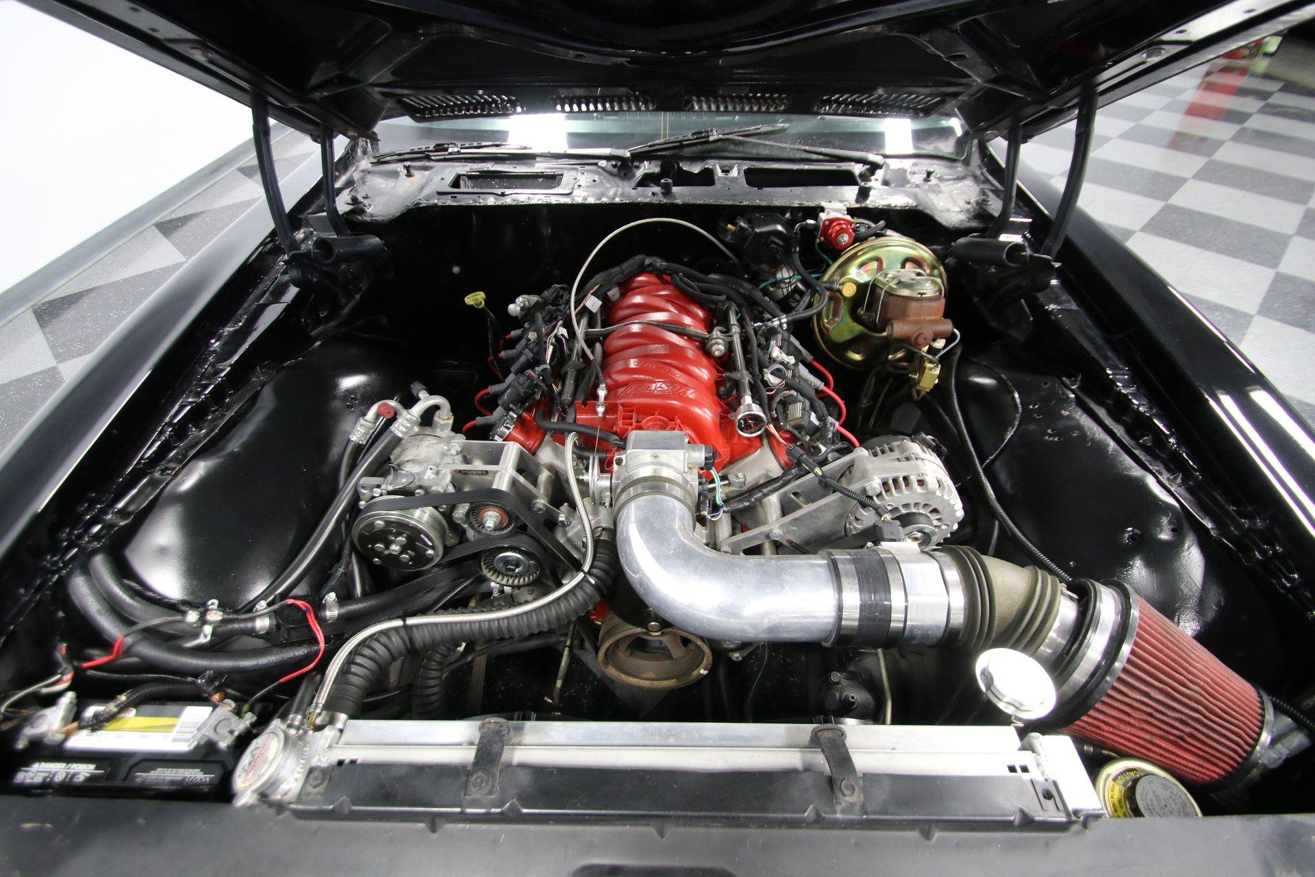 1972 pontiac firebird restomod