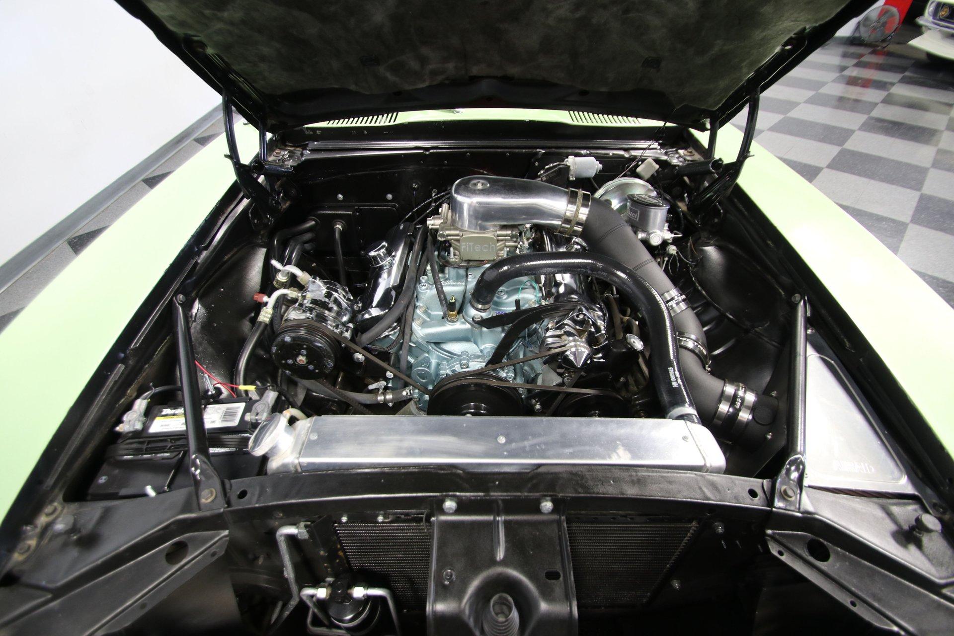 1969 pontiac firebird restomod