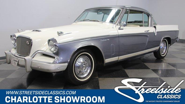 For Sale: 1956 Studebaker Golden Hawk